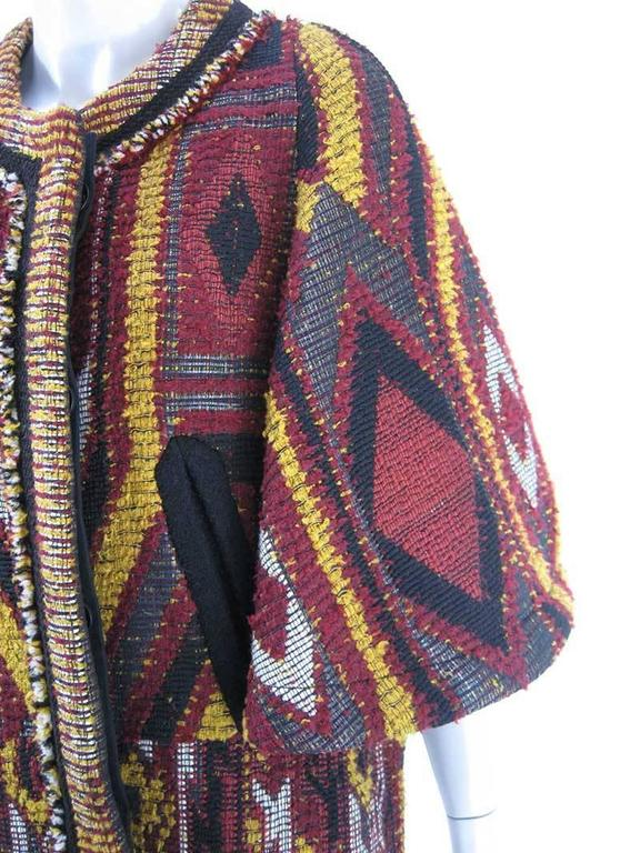 Chloe Multi Colored Boucl 233 Tweed Jacket For Sale At 1stdibs