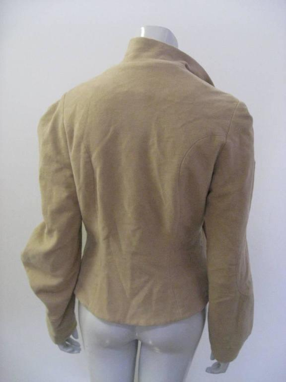 Gray Vivienne Westwood Anglomania Wrap Jacket For Sale
