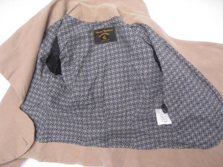 Vivienne Westwood Anglomania Wrap Jacket For Sale 4