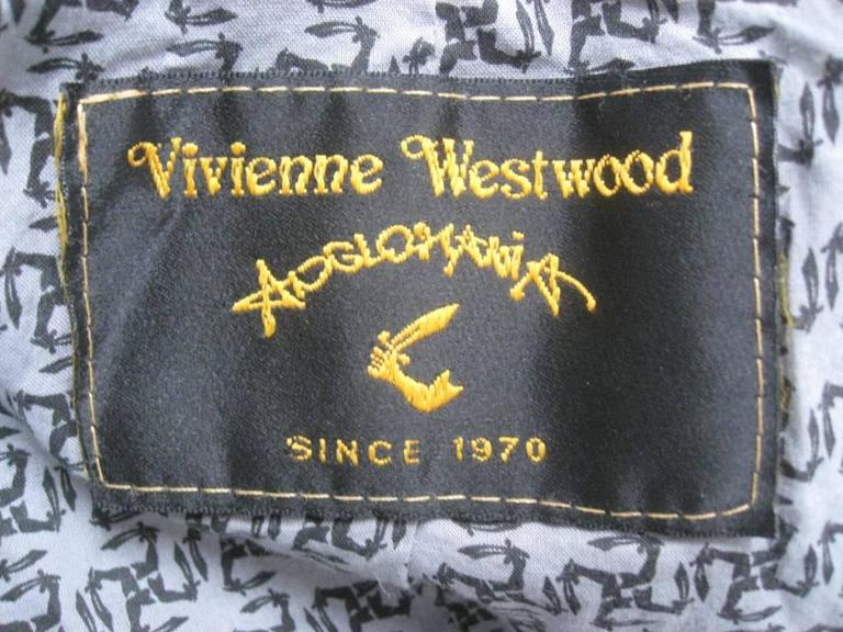 Vivienne Westwood Anglomania Wrap Jacket For Sale 5