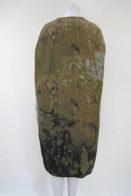 Women's Marni Rust Dye Sleeveless Coat  For Sale