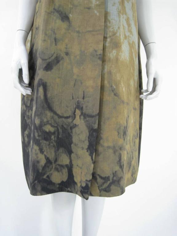 Marni Rust Dye Sleeveless Coat  For Sale 1