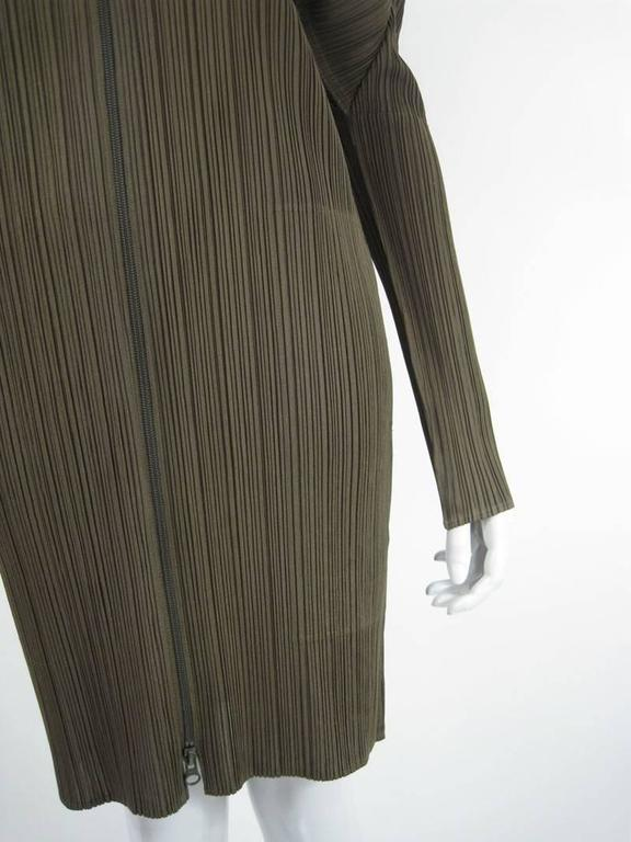 Issey Miyake Pleats Please Hooded Coat For Sale 1