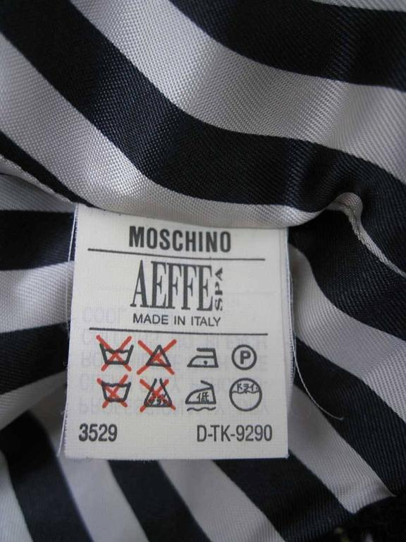Moschino Cheap and Chic 1993-1994 Plaid Wool Jacket For Sale 3