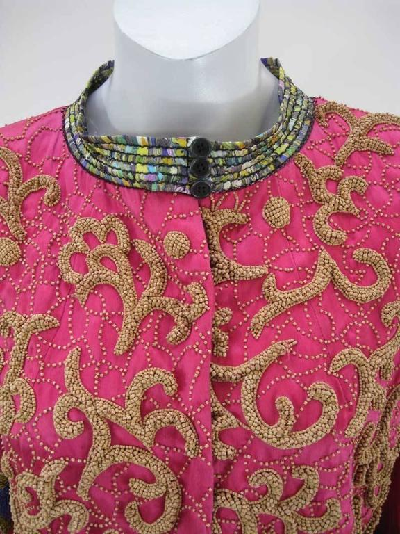 Women's Dries Van Noten Embellished Jacket Fall 2008  For Sale
