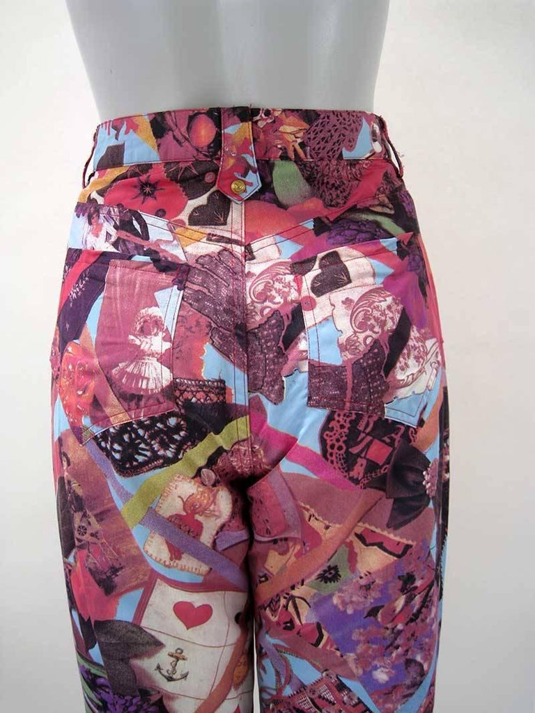 Christian Lacroix Bazar Photo Print Novelty Pants 5