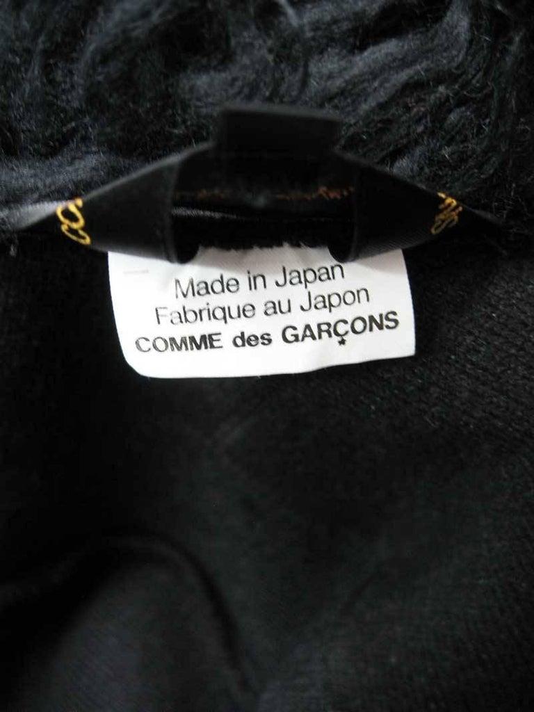 Comme des Garcons Faux Fur Asymmetrical Coat 2002  For Sale 3
