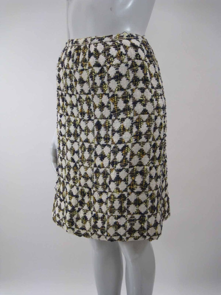 Women's Christian Dior 1960's Marc Bohan Numbered Houndstooth Suit For Sale