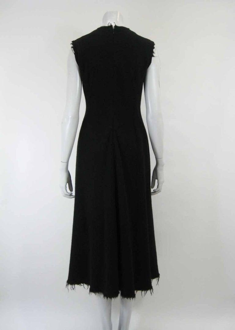 Junya Watanabe for Comme des Garcons 2003 Frayed Hem Coat & Dress 7