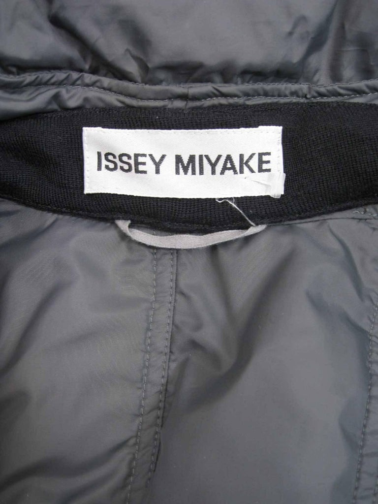 Issey Miyake Ruched Down Long Puffer Jacket  6