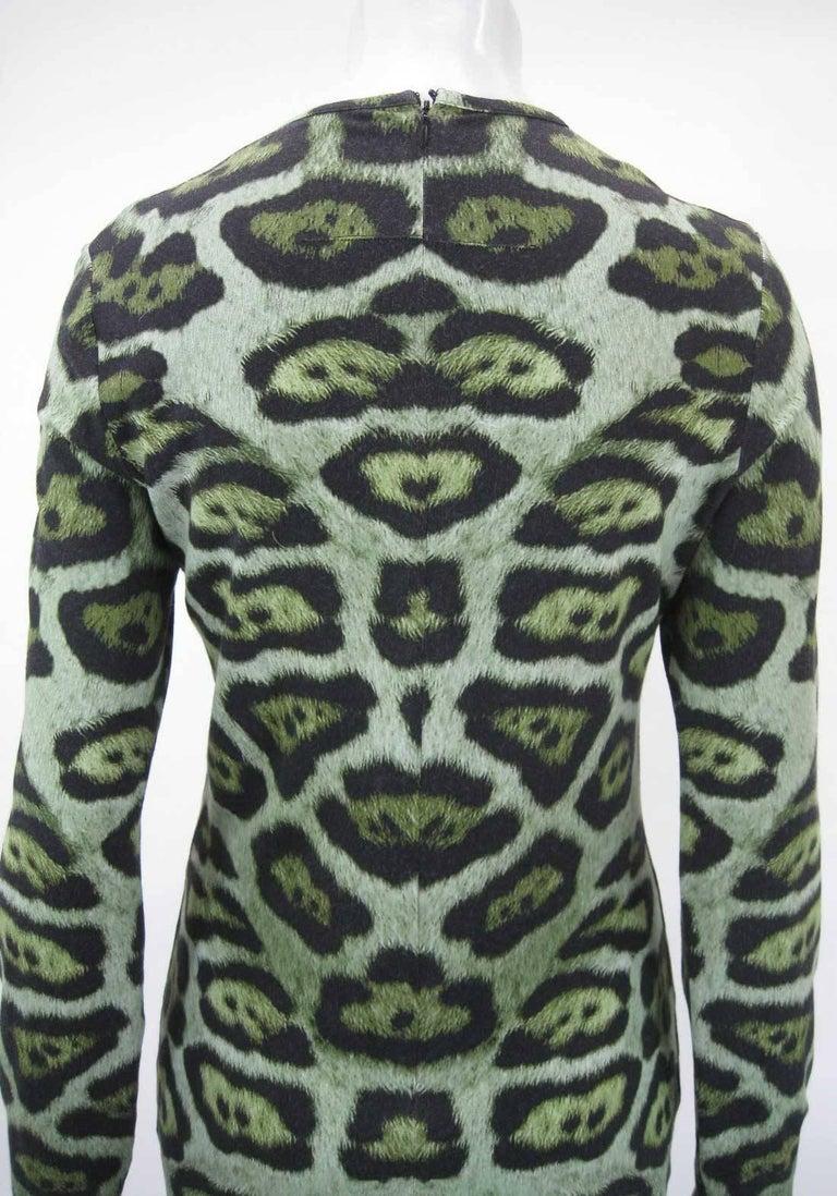 Givenchy Leopard Print Stretch Jersey Dress at 1stdibs 554f178a2