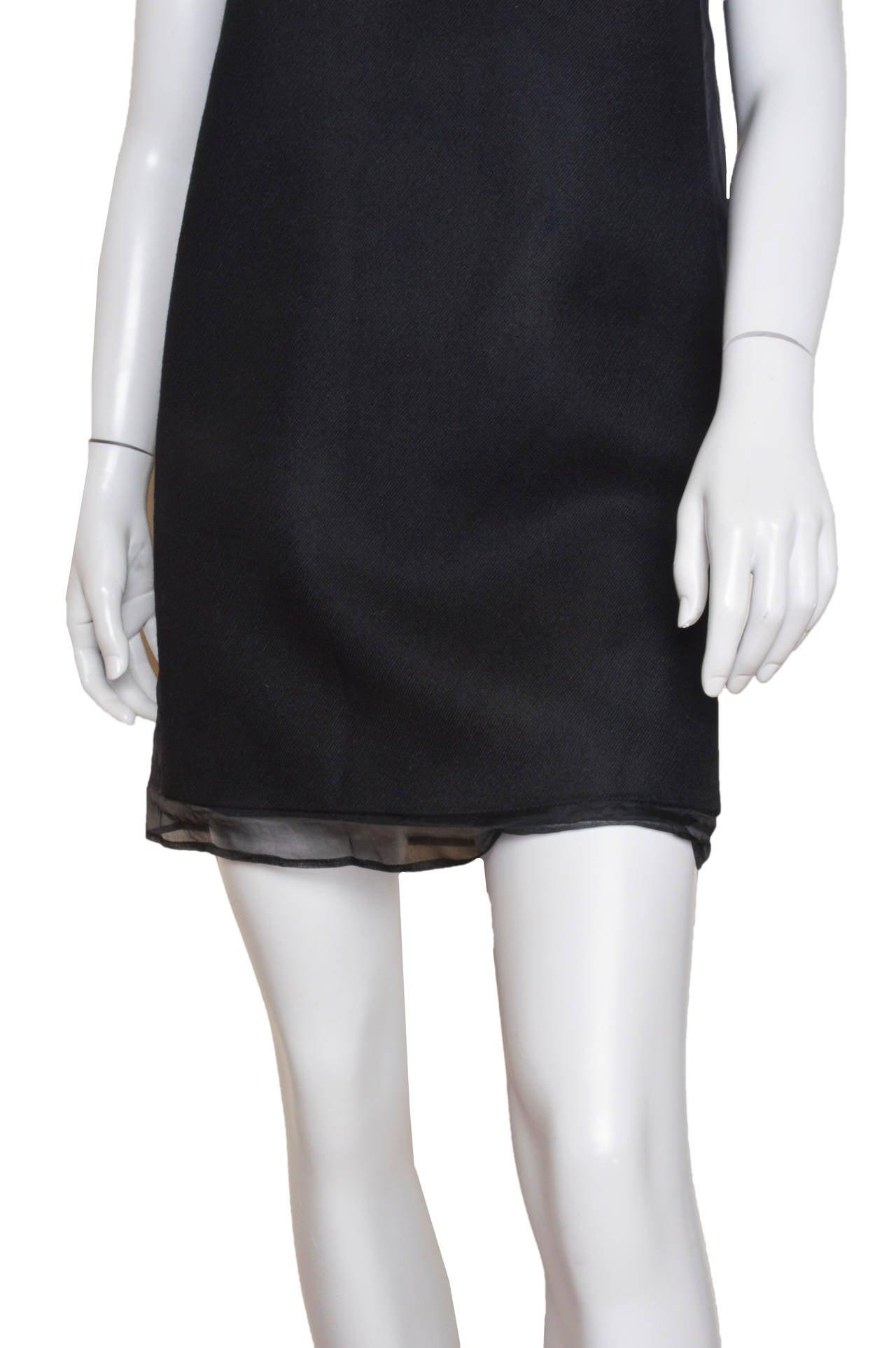 Women's Stella McCartney Black One Shoulder Dress For Sale