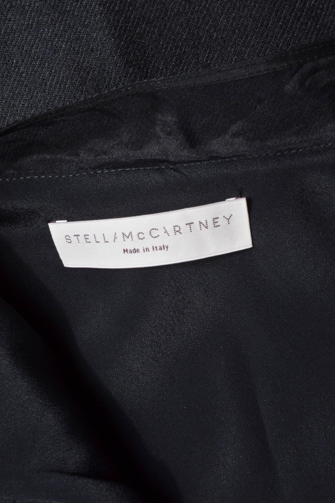 Stella McCartney Black One Shoulder Dress For Sale 2