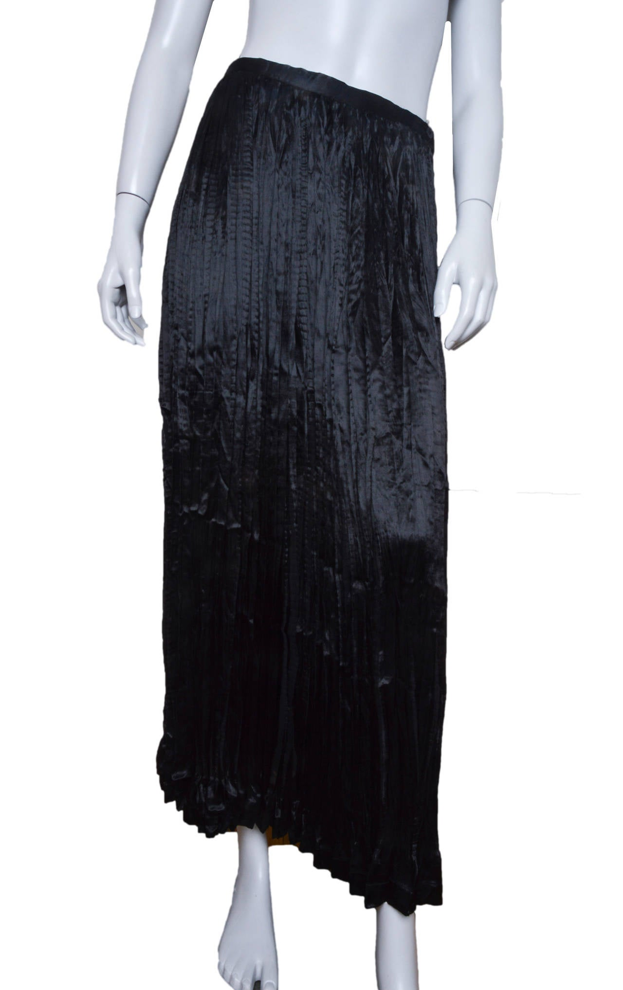 Women's Issey Miyake 2 Piece Pleated Ensemble For Sale