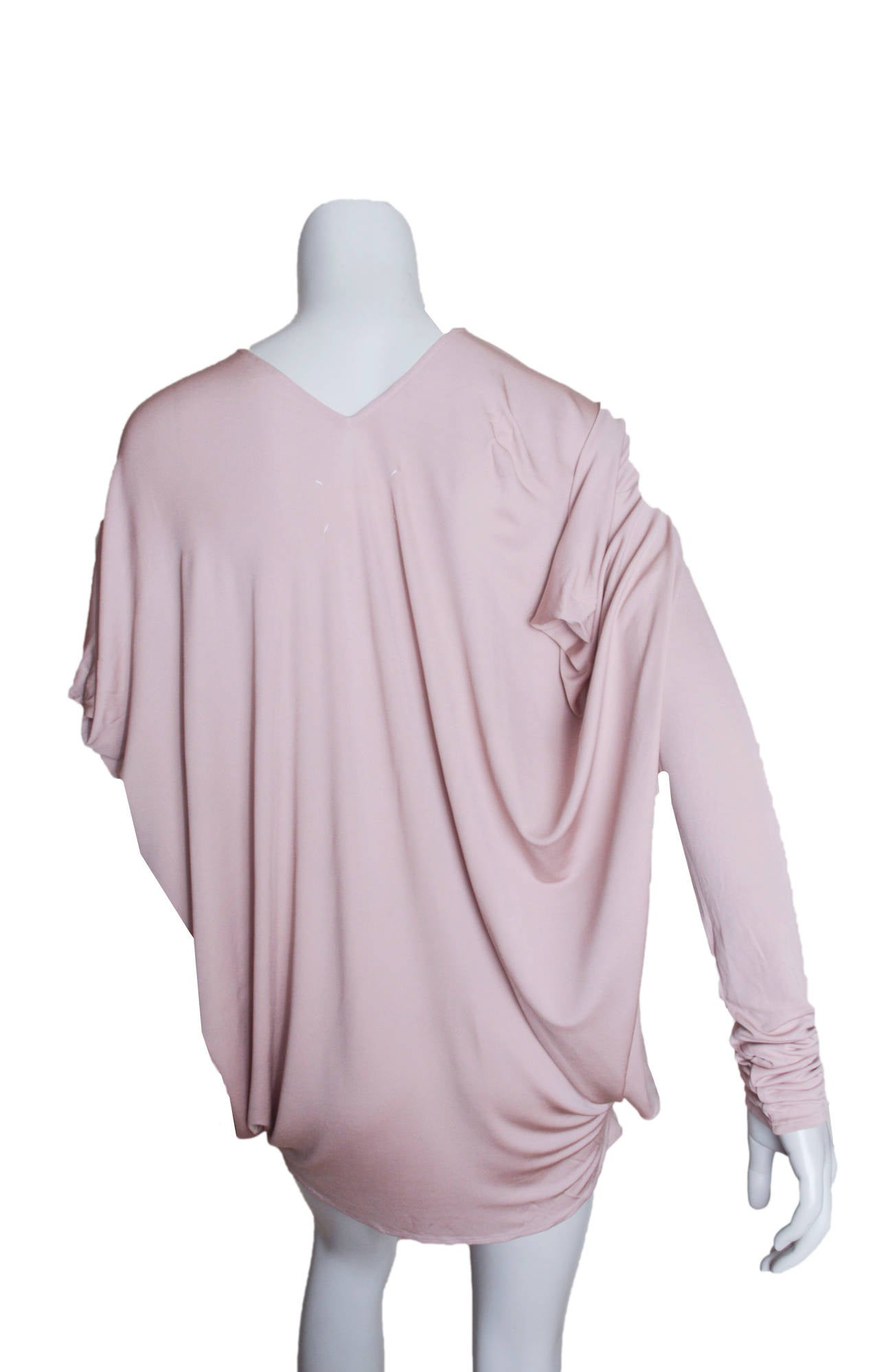 Maison Martin Margiela Draped Jersey Top 4