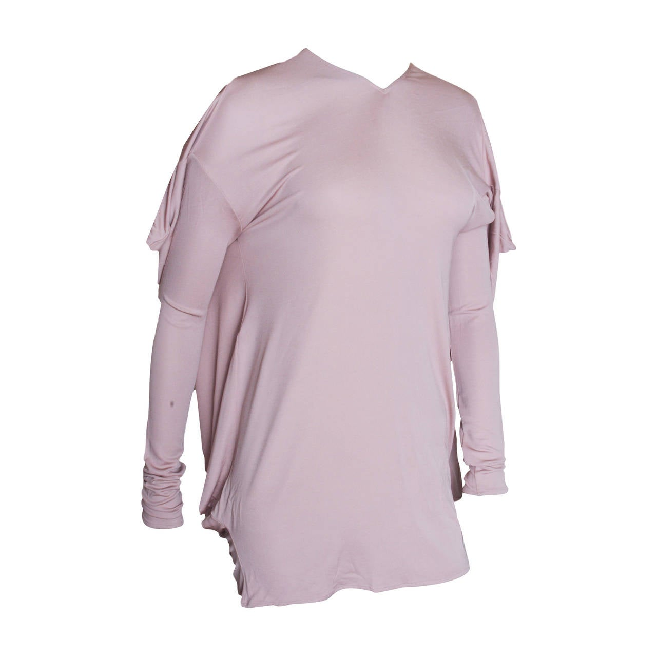 Maison Martin Margiela Draped Jersey Top 1