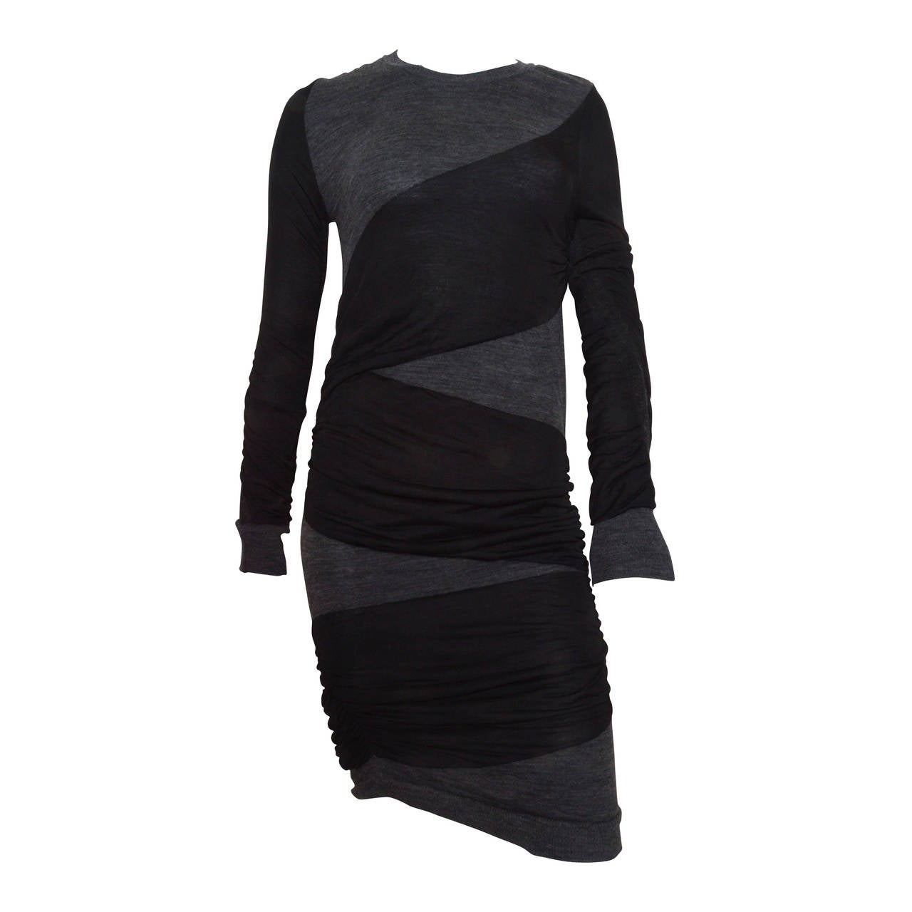 Isabel Marant Diagonal Wrap Dress