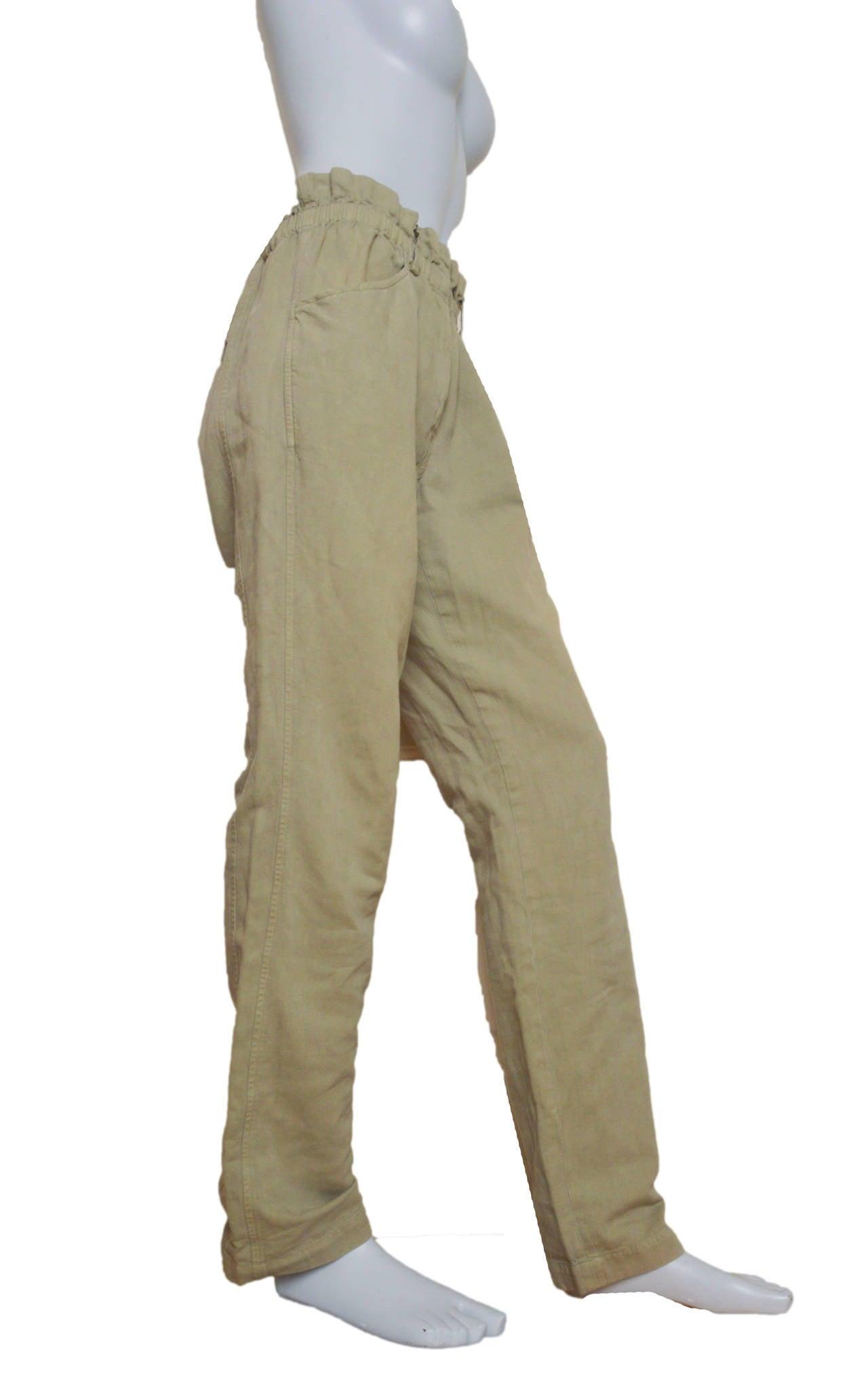 Paper bag trousers - Isabel Marant Etoile Paper Bag Waist Pants 2