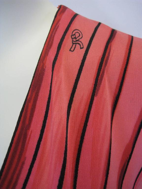 Roberta Di Camerino Trompe L'Oiel Dress 7