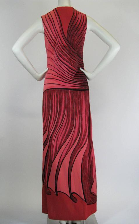 Roberta Di Camerino Trompe L'Oiel Dress 3