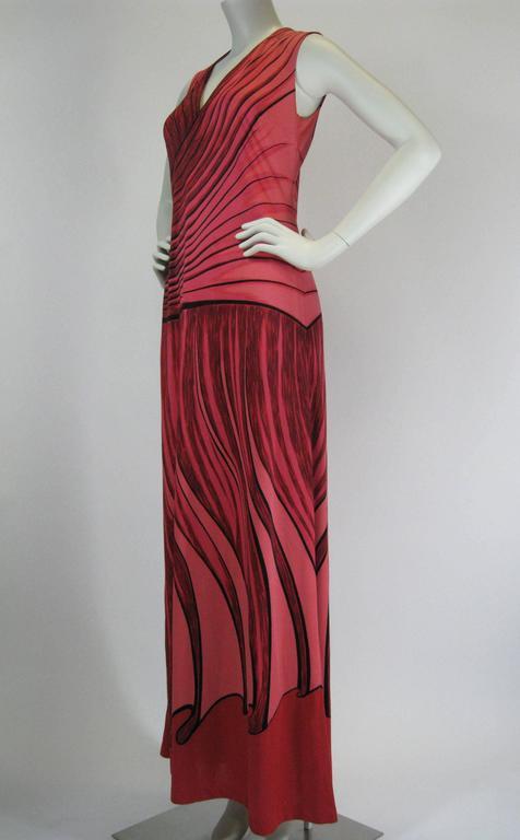 Roberta Di Camerino Trompe L'Oiel Dress 8