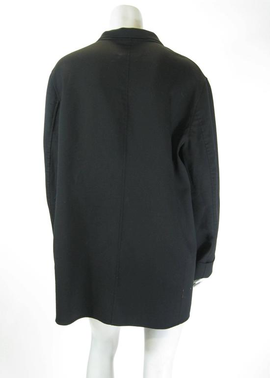 Jil Sander Black Wool Jacket For Sale 2