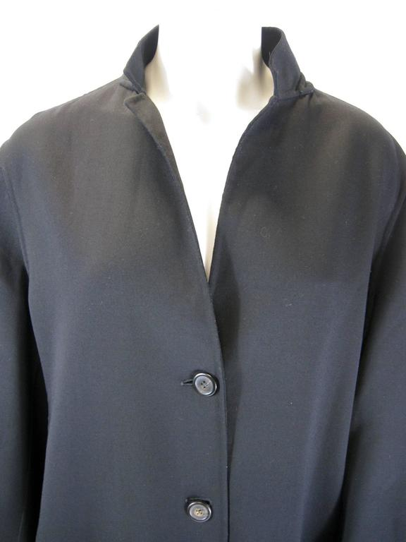 Women's Jil Sander Black Wool Jacket For Sale
