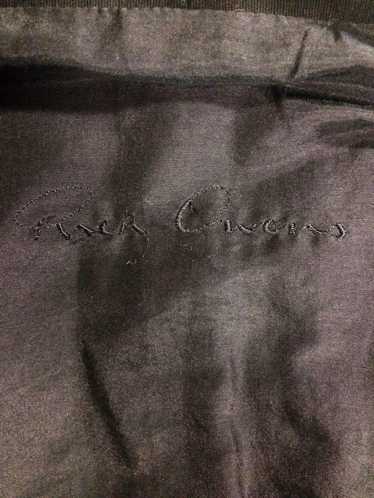 Rick Owens Multi Tie Cropped Avant Garde Structured Jacket 6