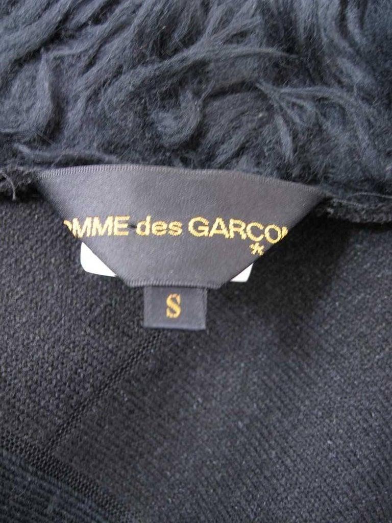Comme des Garcons Faux Fur Asymmetrical Coat 2002  For Sale 2