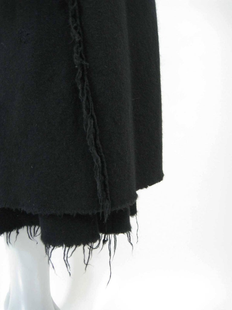 Junya Watanabe for Comme des Garcons 2003 Frayed Hem Coat & Dress 5