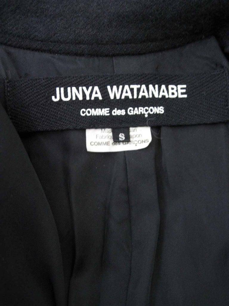 Junya Watanabe for Comme des Garcons 2003 Frayed Hem Coat & Dress 8