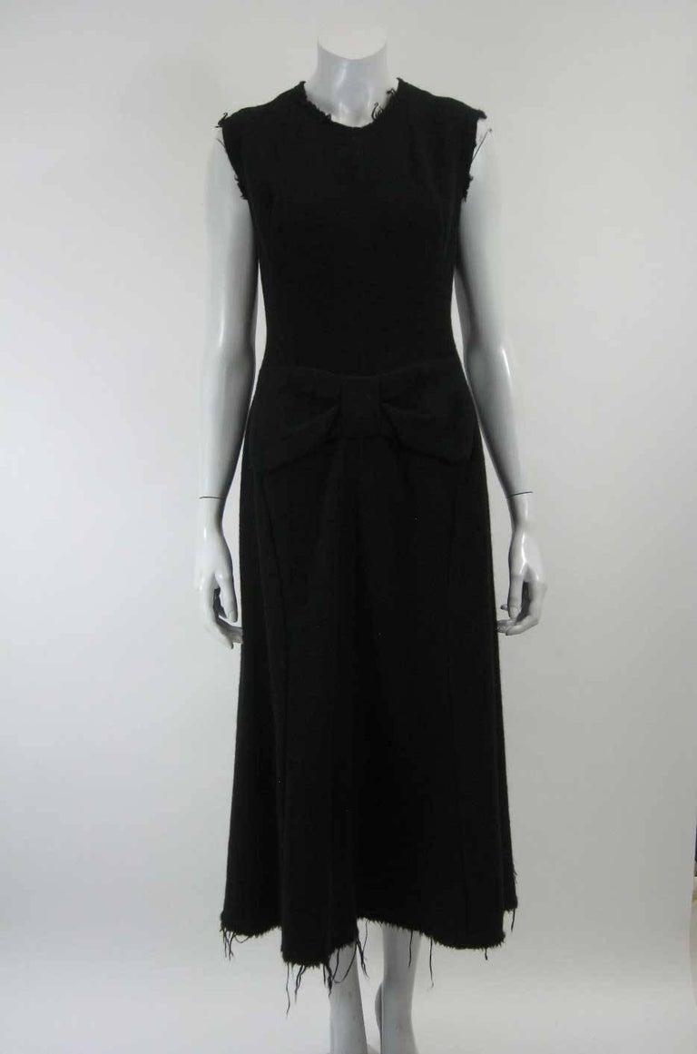Junya Watanabe for Comme des Garcons 2003 Frayed Hem Coat & Dress 3