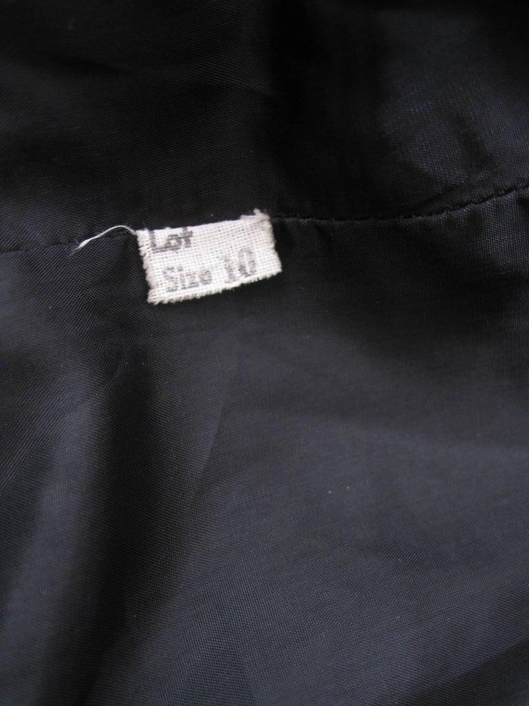 Yves Saint Laurent Rive Gauche Black Velvet Blazer  For Sale 4