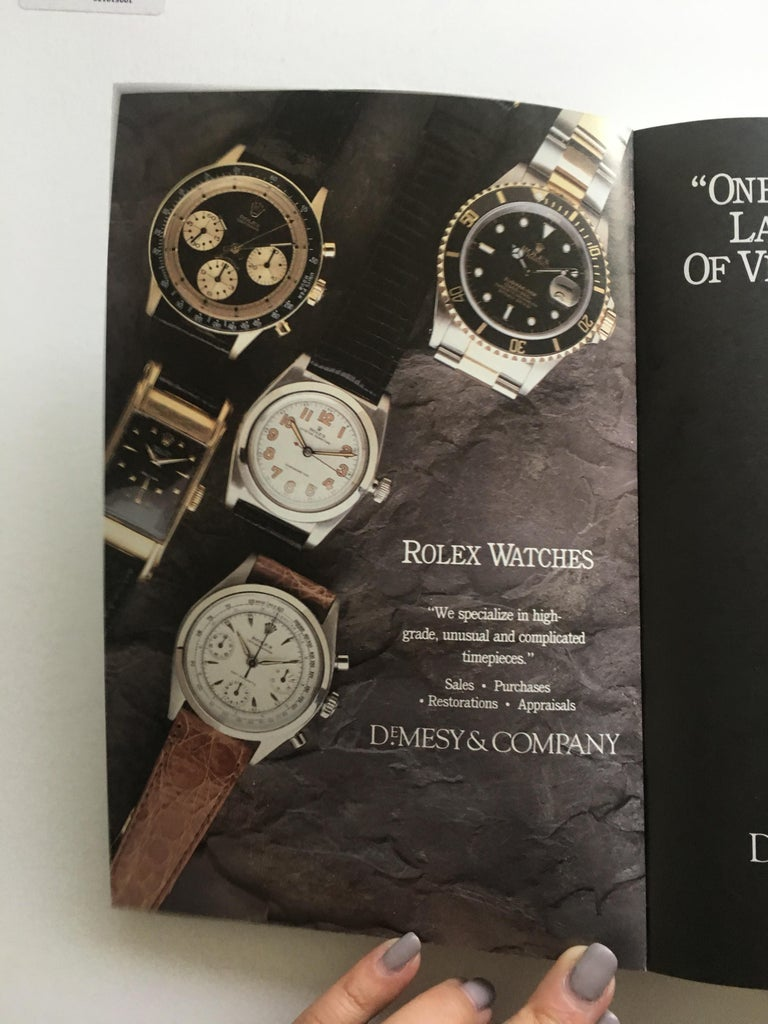 VOLUME 5: Vintage American & European Special Edition Wrist Watch Price Published in 1991- Special Edition