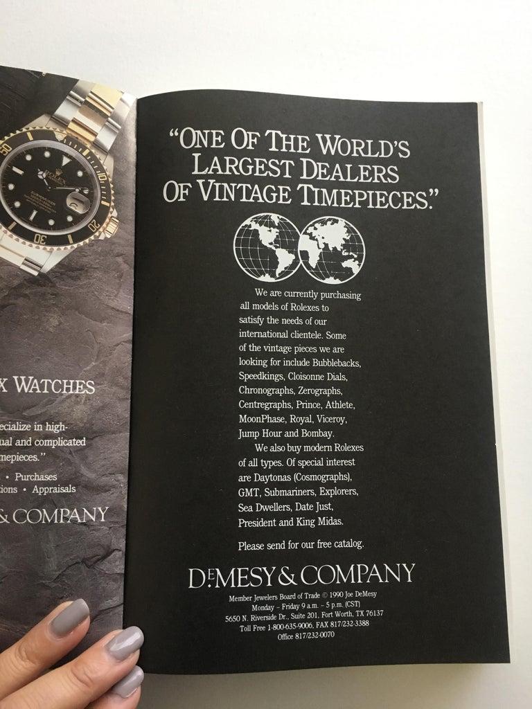 Black VOLUME 5: Vintage American & European Special Edition Wrist Watch Price For Sale