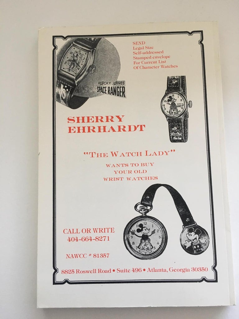 Vintage America & European Character Wrist Watch Price Guide BOOK 3 In New Condition For Sale In Dallas, TX