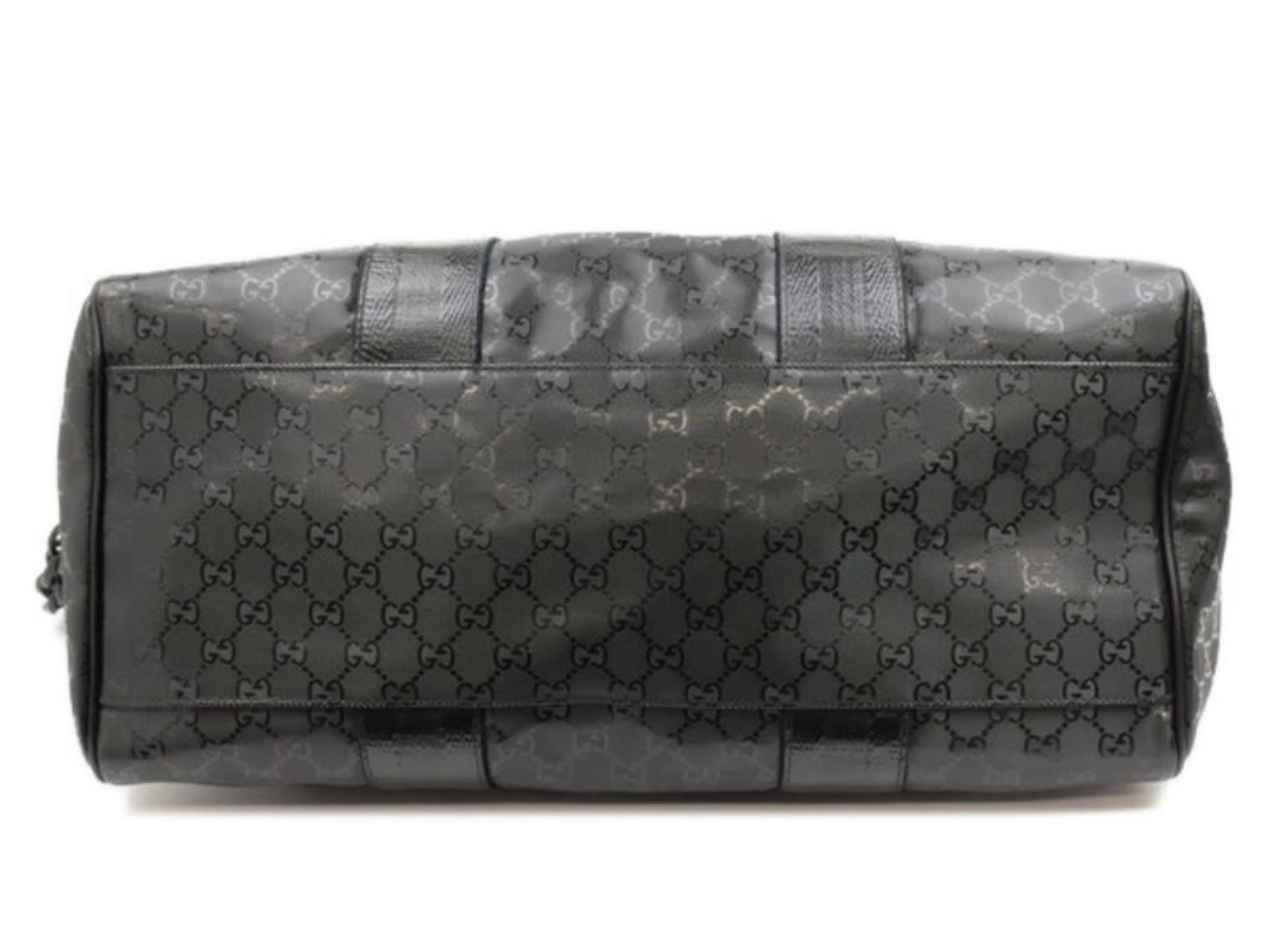 6545d938a62 Gucci Extra Large Imprime Chain 226159 Black Coated Canvas Tote For Sale at  1stdibs