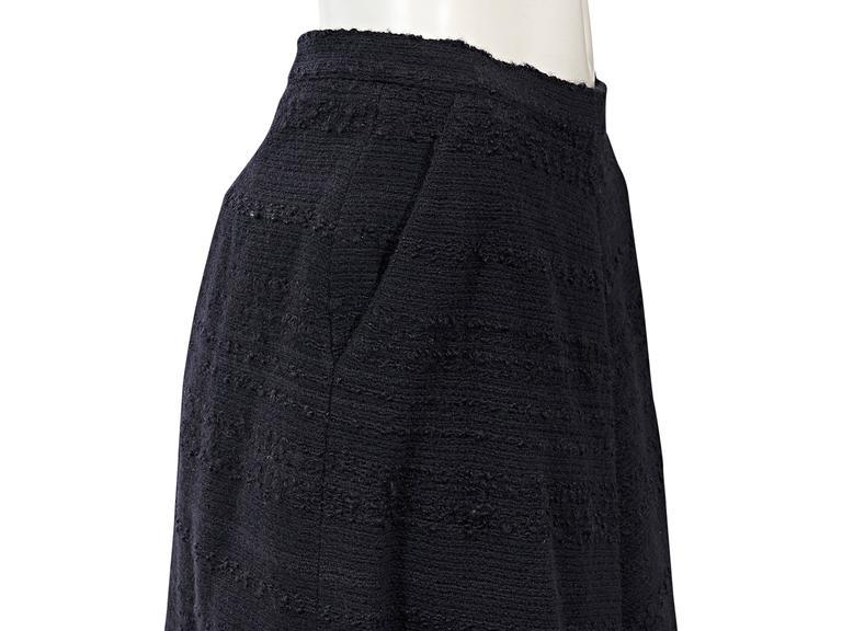 Navy Vintage Chanel 2-Piece Skirt Set 6