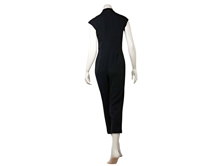 Black Vintage Chanel Jumpsuit In Good Condition For Sale In New York, NY