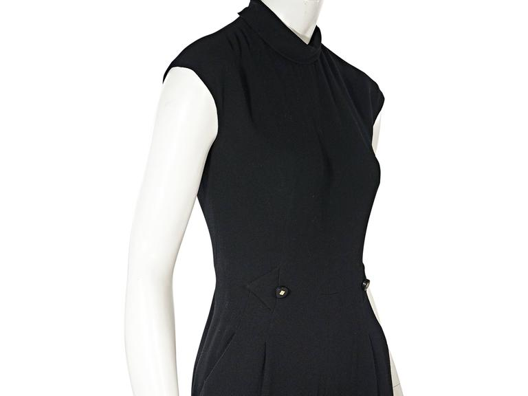 Black Vintage Chanel Jumpsuit 4