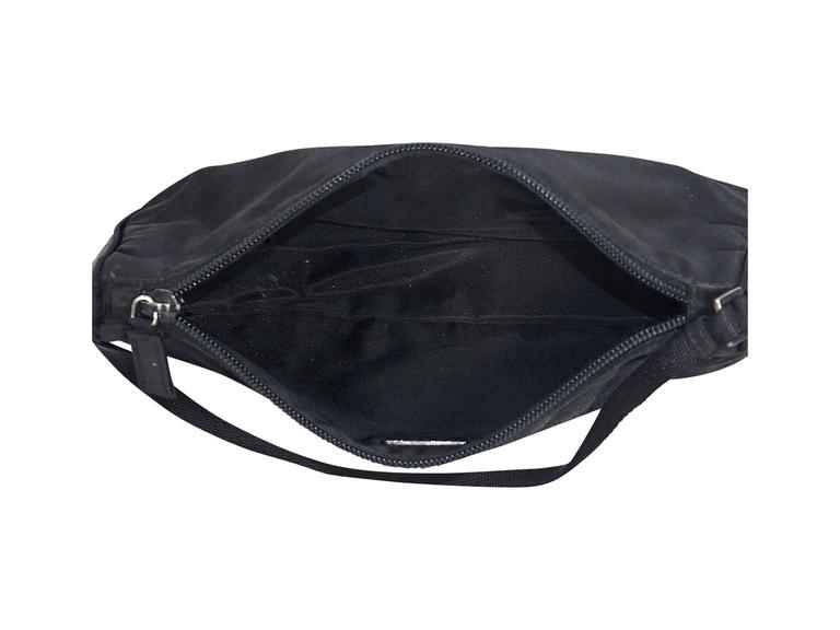 Black Prada Nylon Shoulder Bag For Sale at 1stdibs