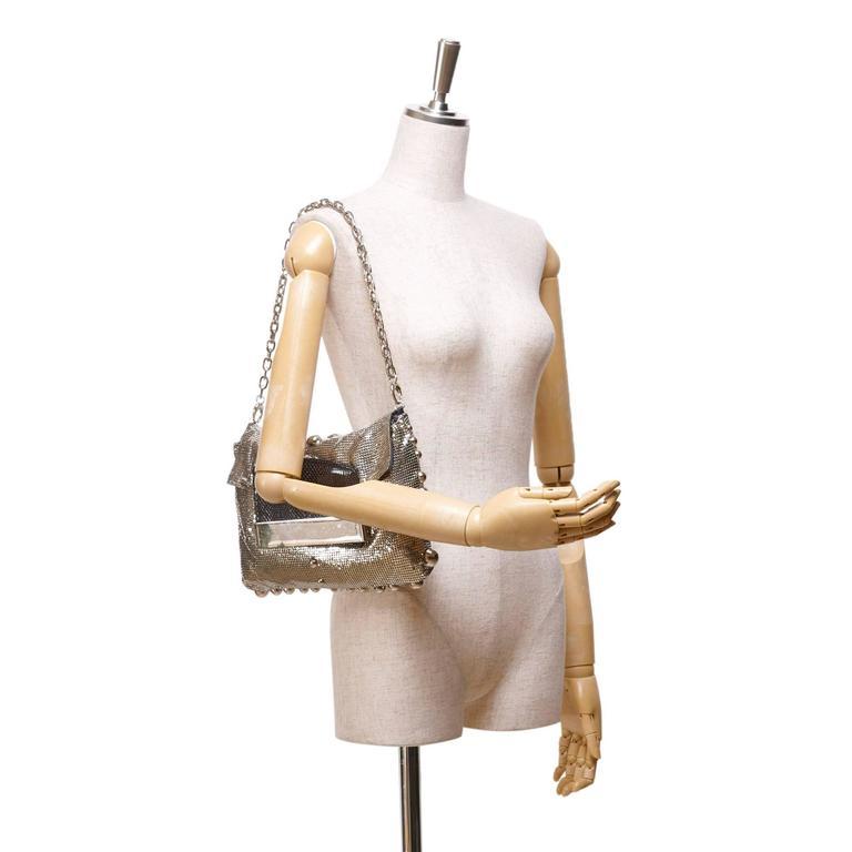 Women's  Jimmy Choo Metallic Shoulder Bag For Sale