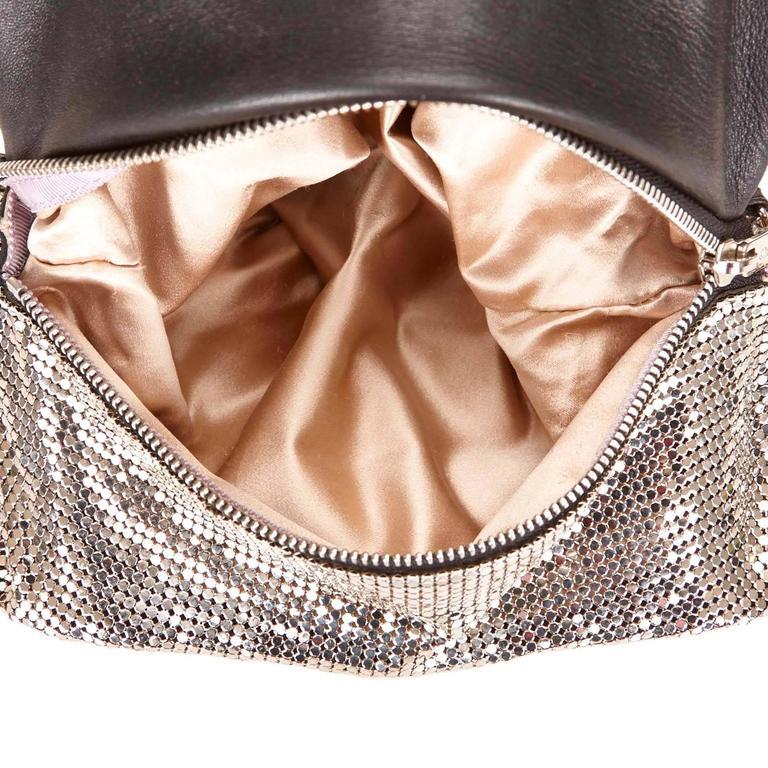 Jimmy Choo Metallic Shoulder Bag For Sale 1