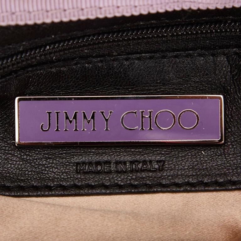 Jimmy Choo Metallic Shoulder Bag For Sale 2