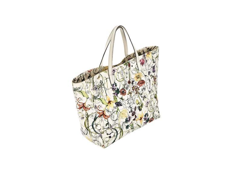 15b05ce86ae Gucci Flora Jolicoeur Tote Bag For Sale At 1stdibs