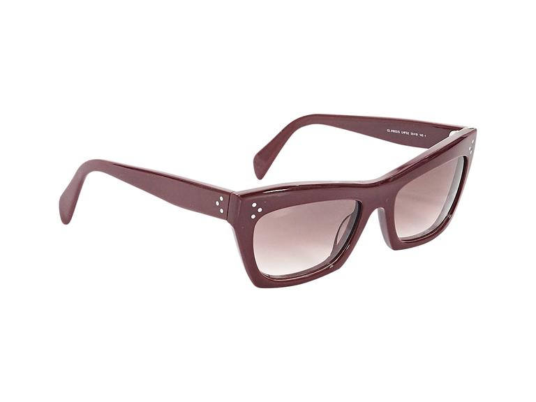 c4e4834215 Product details  Red opaque sunglasses by Céline. Gradient lenses. Case  included. Condition