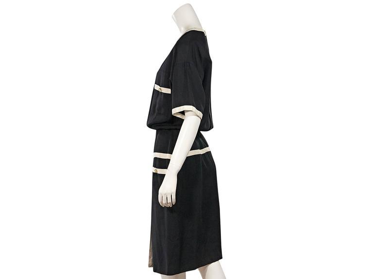 Black & White Vintage Chanel Dress 2