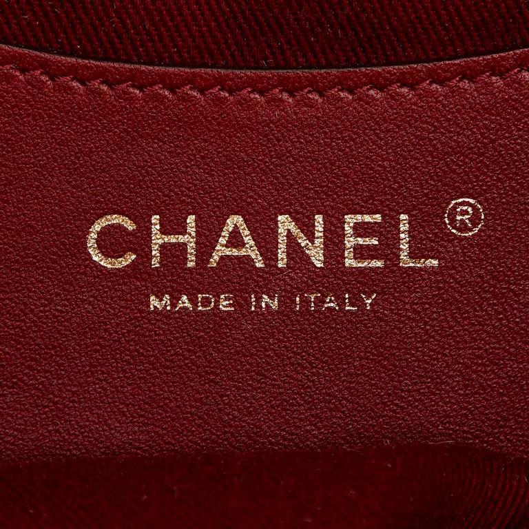 Beige Chanel Mademoiselle Bowling Bag 8