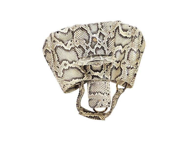 Women's Beige Tod's Python Hobo Bag For Sale