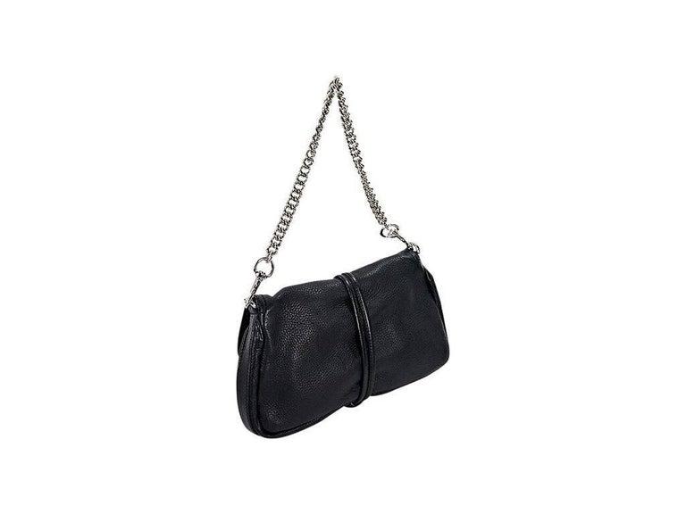 Black Gucci Leather Marrakech Shoulder Bag 2